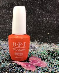 opi summer lovin having a blast gcg43 gel color grease summer 2018 collection i gel nails