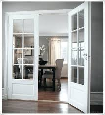home office doors make a pocket door like this and put photographs over glass panes for home office doors sliding glass