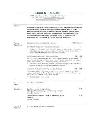 College Schedule Template Enchanting Sample Resume For Students Still In College Baxrayder