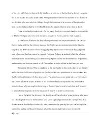 justice adams s oedipus rex essay  5