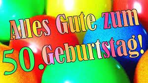 Geburtstagslied Zum Runden 50 Geburtstag Geburtstagsständchen Geburtstagsgrüße Glückwunschkarte