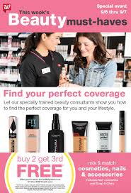 Walgreens Beauty Consultant Events Free Beauty Events