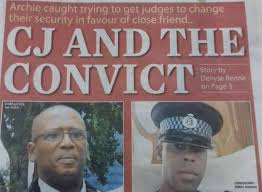 Image result for chief justice archie