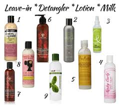 detangling products for curly hair