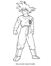Dragon Ball Z Coloring Pages Getcoloringpagescom