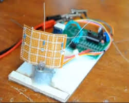 picture of single axis pic controlled solar tracker diy kit