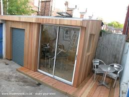 outside office shed. one grand designs shed workshopstudio from liverpool uk owned by dominic jones shedoftheyear oddjones outside office s