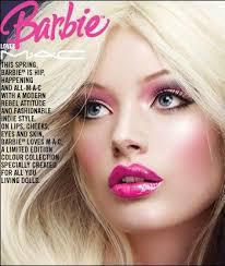 barbie makeup by mac loved this line