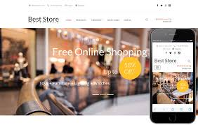 Free Ecommerce Website Templates Delectable ECommerce W48layouts