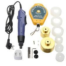 220V 10-50MM <b>HandHeld Electric</b> Capping Manual <b>Bottle</b> Cap ...
