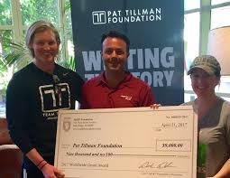 pat tillman foundation receives grant from million dollar round table foundation
