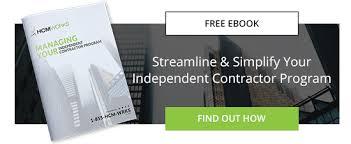 Contractor Checklist Independent Contractor Engagement Checklist