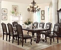 Furniture Kinship Expression With Round Dining Table  Stylishoms Solid Wood Formal Dining Room Sets