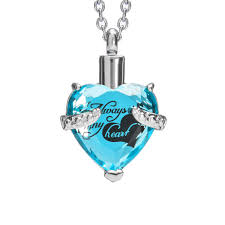 cremation urn necklace for ashes with beautiful gift box urn pendant memorial keepsake cremation jewelry com