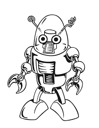 Small Picture Robot Coloring Pages 2 Coloring Page Robot Pages nebulosabarcom