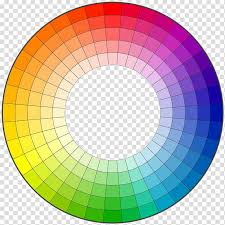 Color Wheel Complementary Colors Hue Ring Chart Transparent