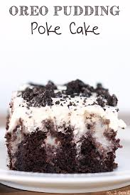Oreo Pudding Poke Cake No 2 Pencil