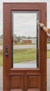 blinds between glass door inserts new exterior wood door with window enormous doors tague lumber home