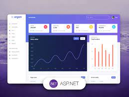 free dashboard for asp net core