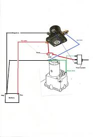 solenoid wiring diagram wiring diagram no more burned up winch controls mytractorforum the atv solenoid wiring diagram automotive diagrams source