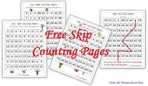 Free Fall Skip Counting Mazes – 2s 3s 5s 10s - Homeschool Den