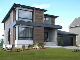 Contemporary House Plans Modern Two Story Home Plan House Plans