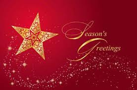online christmas card sample collection online christmas cards red color golden star