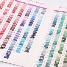 Zooya 5d Diy Diamond Painting Color Chart Square Round Diamond Embroidery Dmc Chart Finished