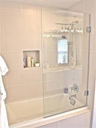 half glass shower door for bathtub incredible half glass shower door within for bathtub comely get