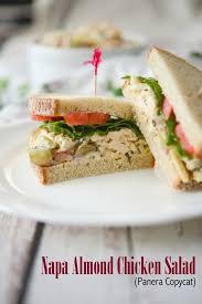 Napa Almond Chicken Salad Panera Bread Copycat Recipe