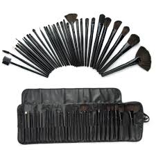 32 pcs superior professional soft cosmetic makeup brush set kit pouch bag case woman 39 s