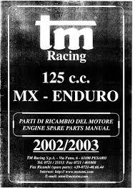 125cc – Motore (Engine) K2 - TM Racing