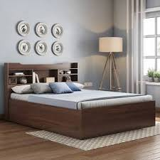 modern bed designs in wood. Modren Modern Sandon Storage Bed Walnut Finish King Size Inside Modern Designs In Wood B