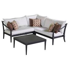 outdoor moroccan furniture. RST Brands Astoria 4-Piece Patio Corner Sectional And Conversation Table Set With Moroccan Cream Outdoor Furniture R