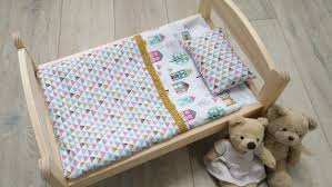 doll blanket bedding set for dolls and
