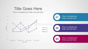 3 Steps Process Smart Line Chart In Powerpoint Slidemodel