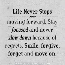 Moving On In Life Quotes