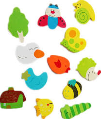 12pcs set baby kids wooden cartoon animal cute fridge magnet eco friendly lovely child educational toys refrigerator magnets souq uae