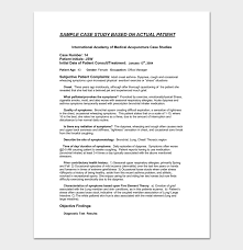 medical case presentation template word case study template