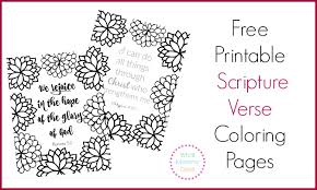 Small Picture Free Printable Scripture Verse Coloring Pages What Mommy Does