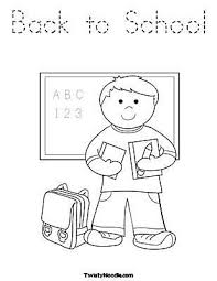 Small Picture Free Back to School Coloring Pages