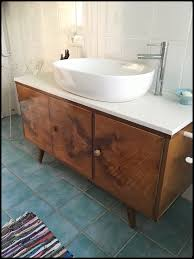 My New Bathroom Sink With Old Retro Cupboard 1970 Bad