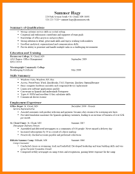 3 Examples Of A Perfect Resume Emt Resume