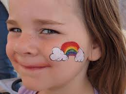 easy face painting ideas for kids cheeks simple