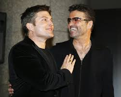 george michael and anselmo feleppa. Wonderful George GettyImages56436066 British Pop Star George Michael  Intended And Anselmo Feleppa W