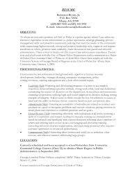 Police Captain Resume Example Http Www Resumecareer Info