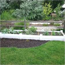 vinyl garden bed raised fresh beds fencing white costco kits canada