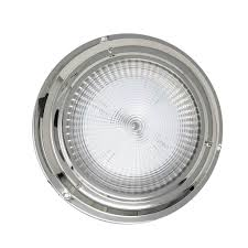 Stainless Steel Led Interior Dome Light W On Off Switch 4