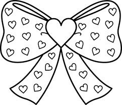 Small Picture Bow coloring pages Nice Coloring Pages for Kids