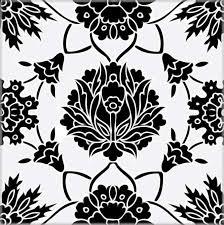 black and white tile floor texture. Ceramic Tile Black And White Tiles Floor Style Texture Pattern: